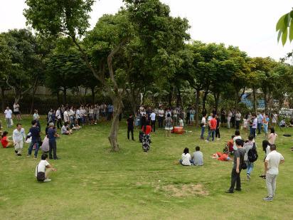 缘起山鹰活动之9.24(周日)忠仑公园游