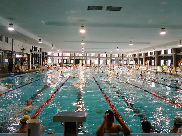 7月15日去福田体育公园免费游泳