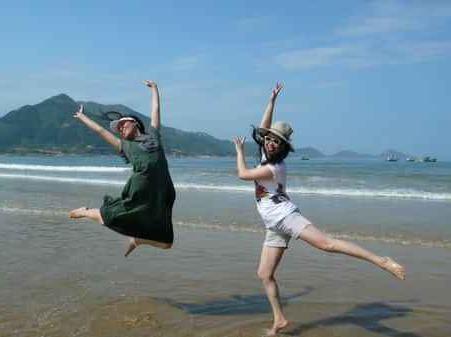 7月1日相约高罗海滩风景区游玩