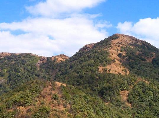 攀南从化天堂顶 勇闯广州第一峰