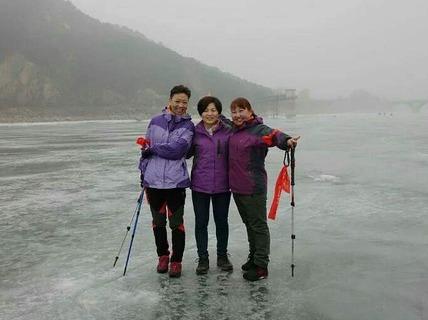 2月20日(初五)望峪至蟠桃峪走冰