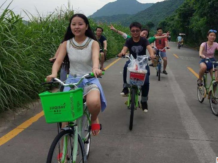 4月29日大鹏古城探秘杨梅坑骑单车一日游