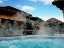 冬天来泡温泉,有助于身体健康!