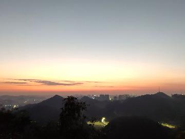 黔灵山有氧运动