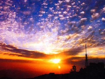 5.26 -5.27登泰山 观日出 住山