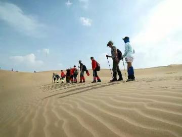 国庆节第七大沙漠【库布齐沙漠】徒步乐趣