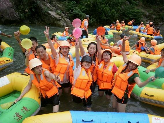 8月11日相约去古龙峡漂流+船游小北江