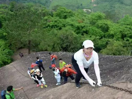 3月10日惠州马鞍山徒步、攀岩一线天