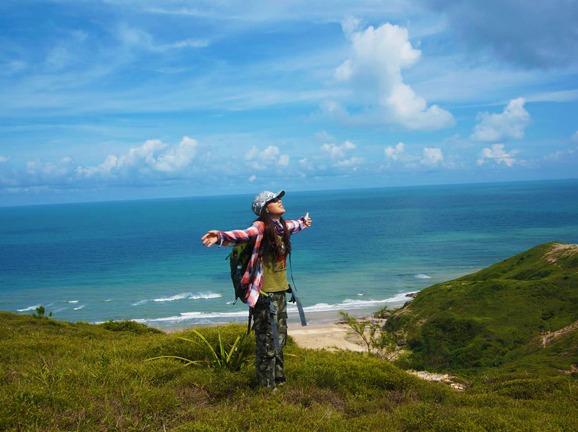 惠州黑排角海岸线穿越、感受中国版马尔代夫
