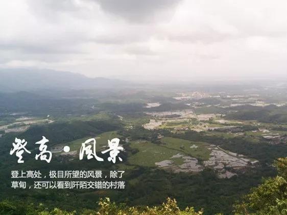 【恩平】赏高山草甸-访石头古村