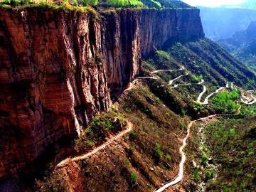 南太行锡崖沟,抱犊村,九莲山,八里沟穿越