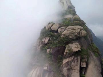江西上饶灵山天梯峰、水晶山穿越