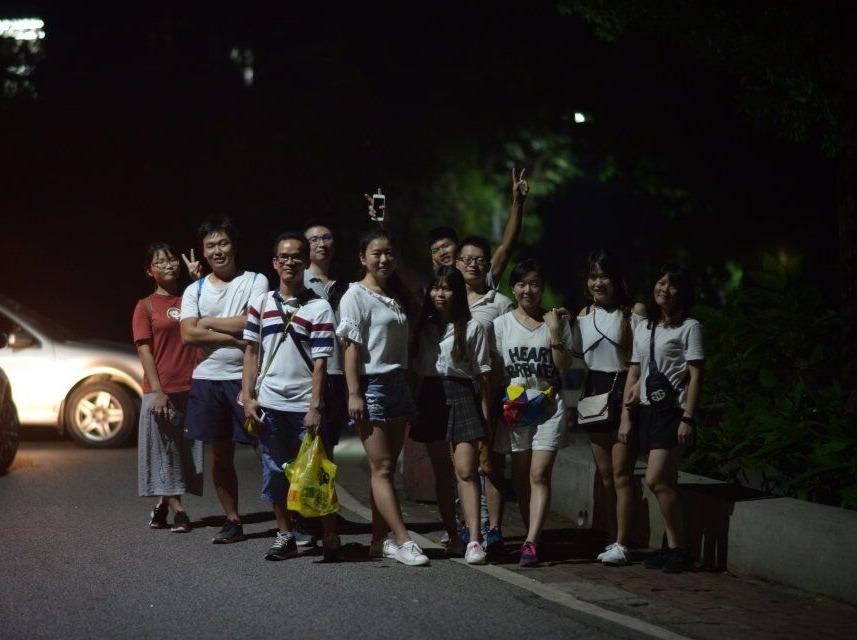 免费夜登白云山赏广州夜景