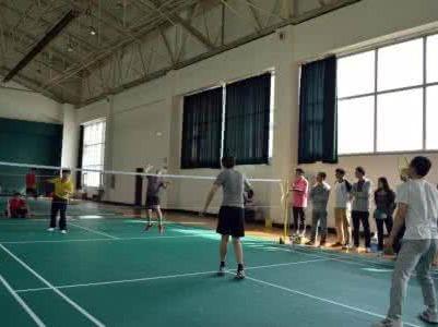 羽毛球交友活动
