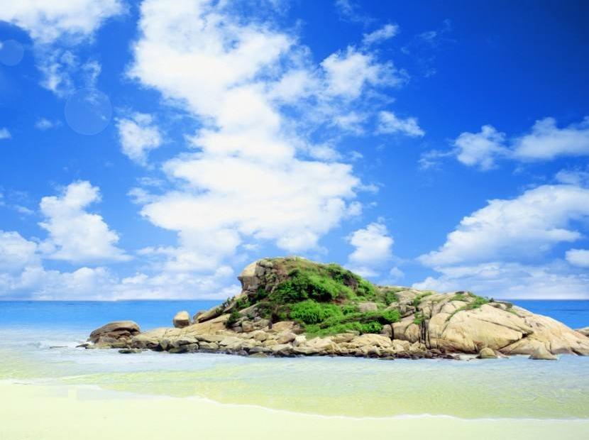 4月2  穿越惠州狮子岛捡贝壳,赏海景
