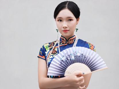 观澜版画村旗袍摄影创作
