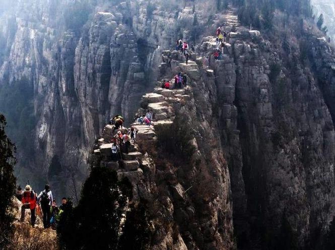 1月14(周日)平阴大寨山昧心桥登山穿越