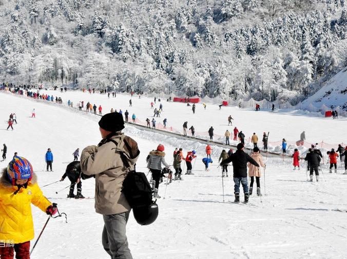 一起去大明山滑雪吧