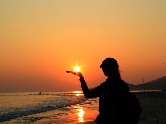 5.7号惠州狮子岛穿越、捡海星、拾海贝