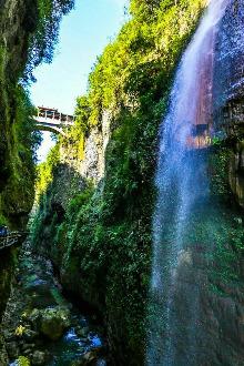 【春节自驾】走进湖北恩施大峡谷 鹿院坪梦幻世界