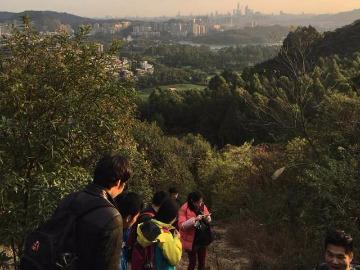 本周六  广州六片山小环线
