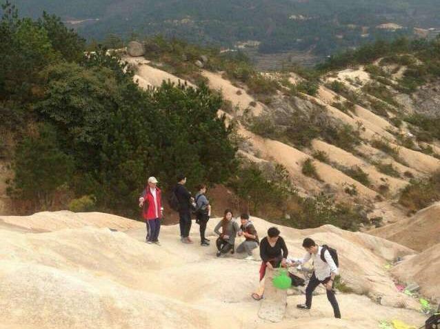 12.31日-登琼台仙谷,玩高山沙漠