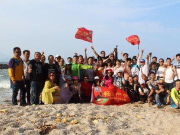 3月25号惠州黑排角海岸线徒步