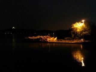 5月17日夜徒石湖