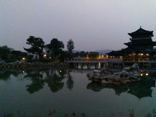 6月21日夜徒石湖