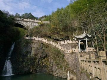 9月23日初秋观飞流悬瀑探秘太平军藏兵洞