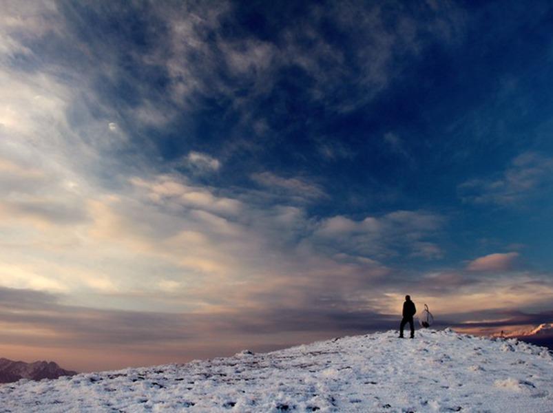 红岩顶  仰望星河灿烂 坐看云起云落