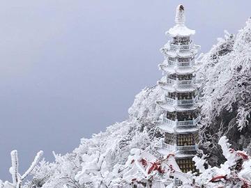 3-4日华蓥山赏雪