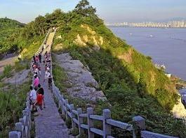 长江最美幕府山