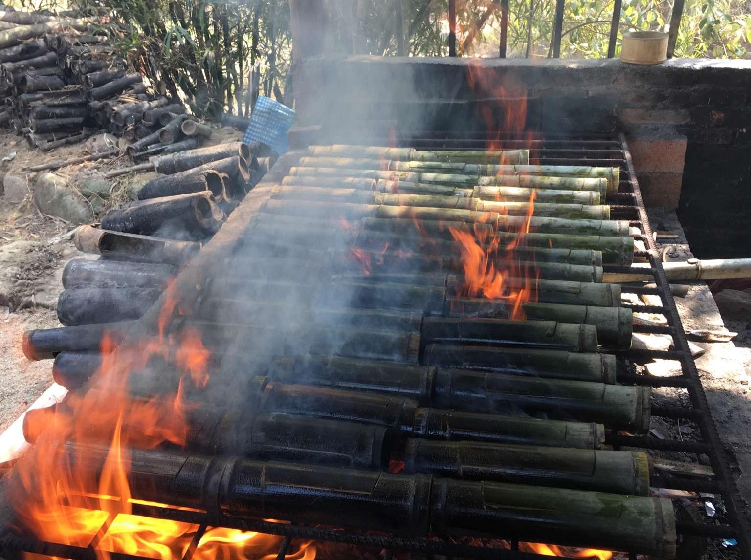 从化美星溪休闲户外徒步路线+预订竹筒饭