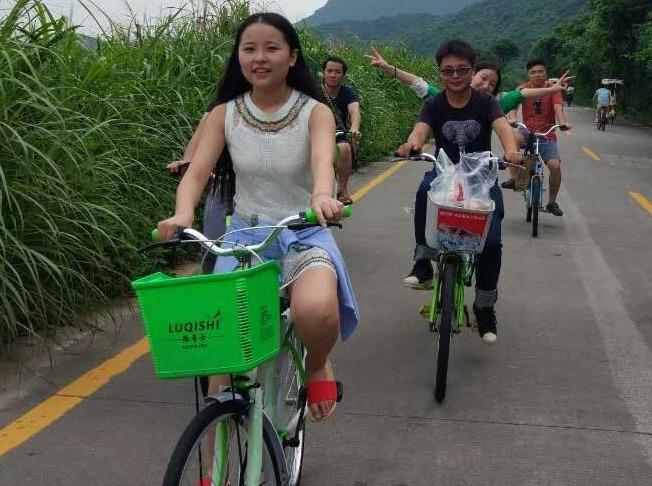 9月23日野炊大鹏古城探秘杨梅坑骑单车