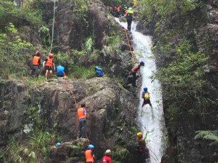 7月21周六  惠州风之谷降瀑、降溪