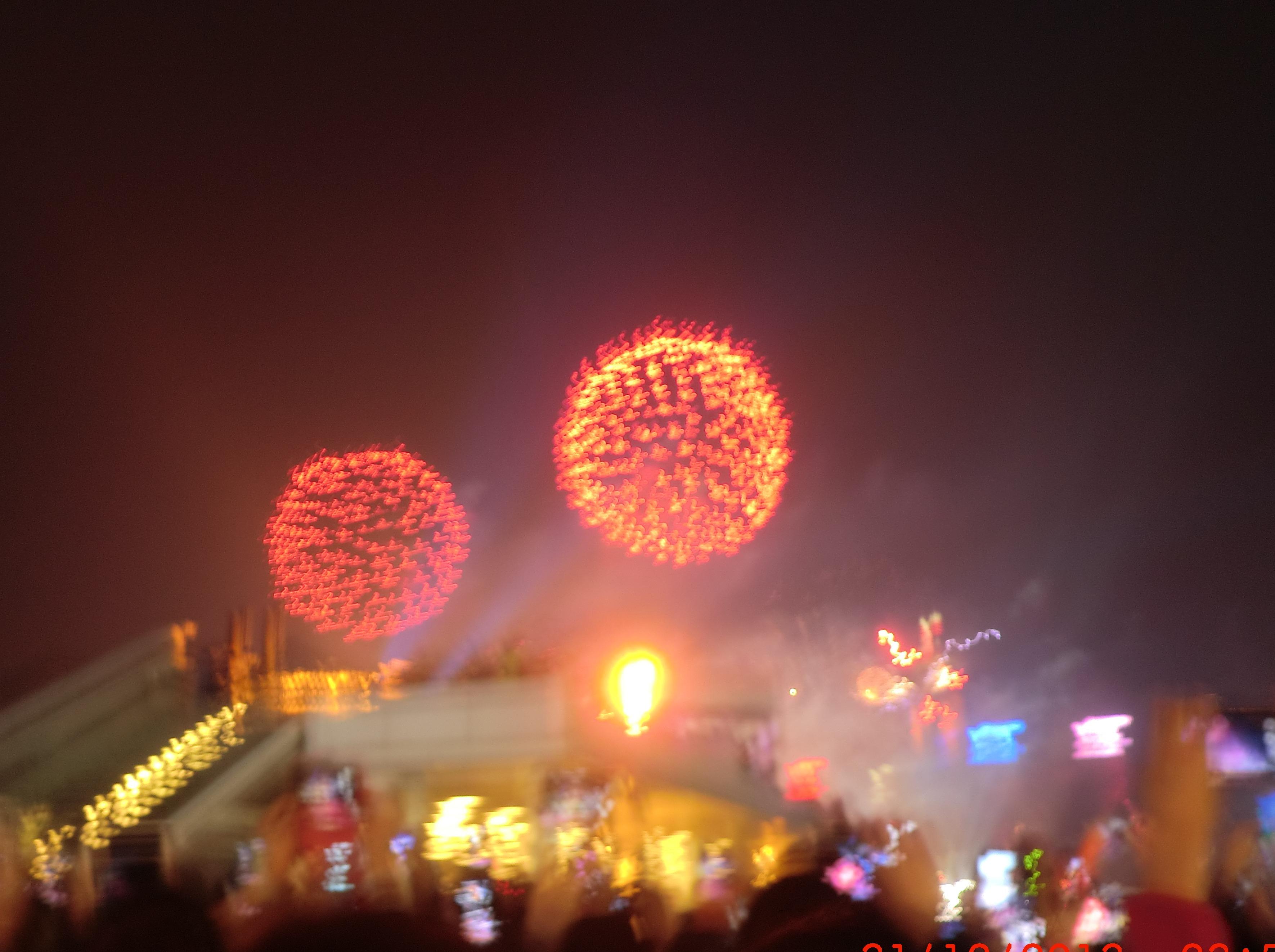 6号年初二:2019香港新年烟花观礼