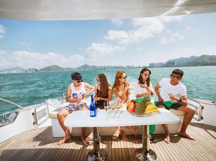 惠州东部湾、游轮出海、烧烤、入住海景酒店