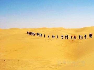 【五一节】内蒙古库布其沙漠东线穿越活动