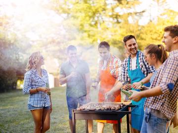 星空露营—BBQ烧烤—垂钓夜鱼—篝火晚会