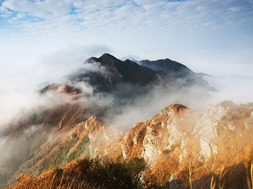 12月3日 河源黄牛石 霸气的综合体山巅