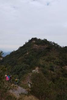 天台九遮山爬山穿越