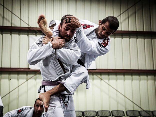 巴西柔术外教课-挑战你的对手