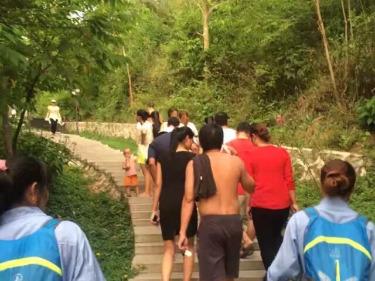 周六爬山临春森林公园