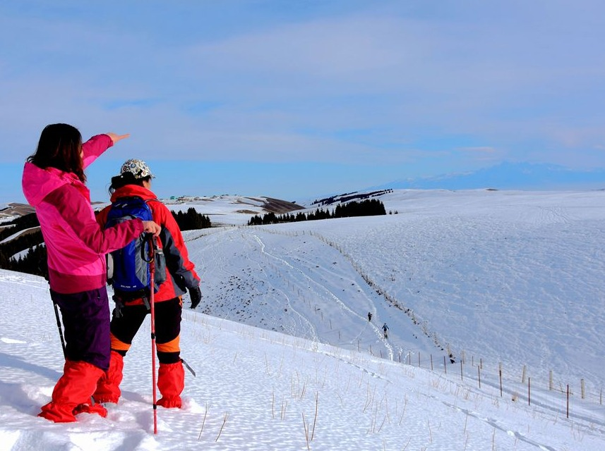 12月9日南山南台子徒步赏雪景摄影一日游