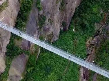 5月14日挑战华南高空玻璃桥+CS+野炊