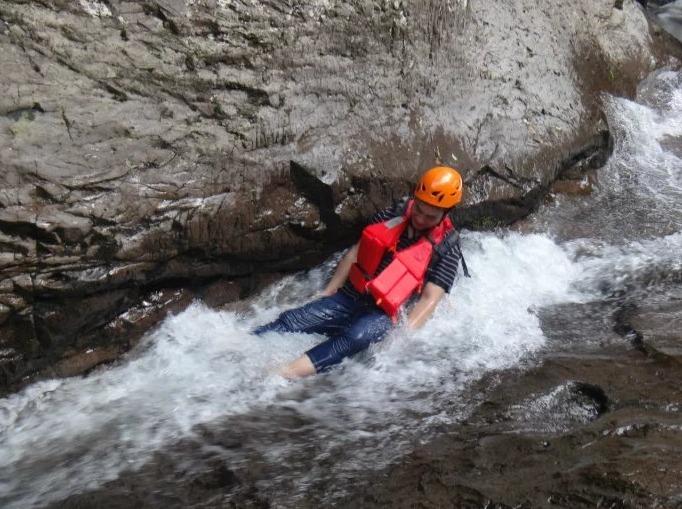 台州丽人谷溯溪玩水尽享湿身之旅