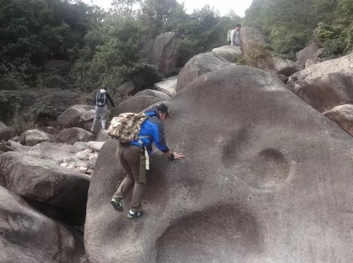 1月21日(周日)瑞安十字坑峡谷环线穿越