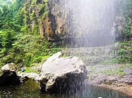 文成朱阳九峰景区徒步。