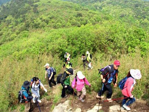 9月16日(周日)慈溪栲栳山穿越